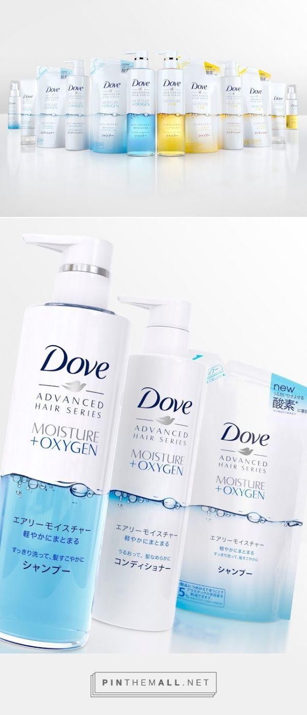 #Dove #Japan relaunch #packaging designed by JDO - http://www.packagingoftheworld.com/2015/06/dove-japan.html