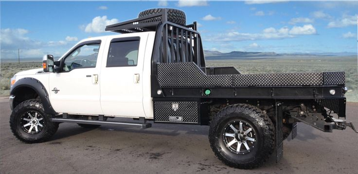 Highway Products makes the coolest aluminum truck beds