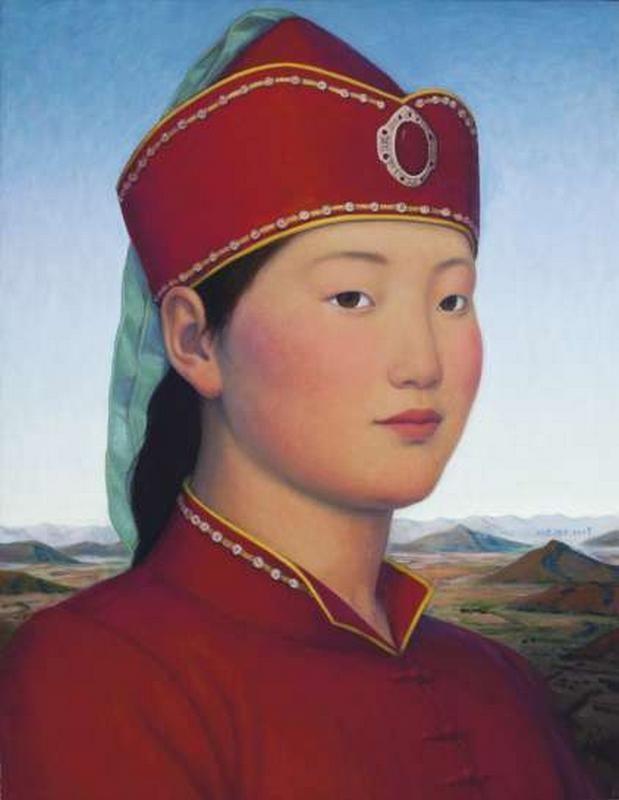 2009 MISS WULAN, Xue Mo (薛墨; b1966, Inner Mongolia, China; since 2011 based in Canada)
