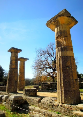 Temple of Hera at Olympia.