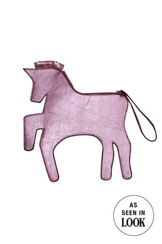 Unicorn Clutch Bag Pink - THE WHITEPEPPER