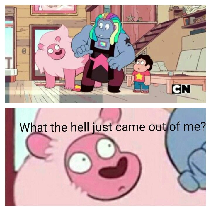 "And then there's Bismuth, like ""Did that kid just pull me out of a LION?"""