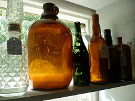 Antique bottles from the Mill Markets - Ballarat, Daylesford & Geelong (from Stall #428 Ballarat) www.millmarkets.com.au