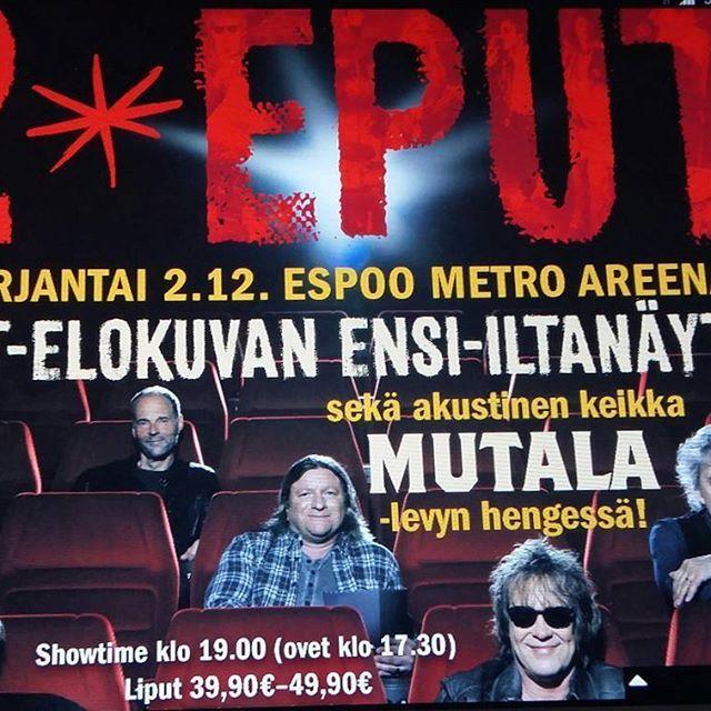 KULTTUURI. MUSIIKKI. 14.11.2016 Suomalainen Menestynyt, Klassikko Rock-pop yhtye, bändi EPPU NORMAALI 40 VUOTIS Kiertue, Ura alkanut 1976. Alkuperäiset JÄSENET, Martti, laulu ja PANTSE eli Mikko SYRJÄ, kitara ja tausta laulu, AKU Syrjä, serkku rummut ja Aki Torvinen, basso, taustalaulu. RUNSASTI HITTEJÄ....SUOMEN MUSIIKKI HISTORIAA 2 MYYDYIN ALBUMI 1997, Repullinen Hittejä... KATSO Info EPPUNORMAALI ja BLOGI. Myös NENÄ PÄIVÄ Showssa mukana, 3 kappaletta. HIENOA. SEURAAN&Tykkään Olen Nähnyt…