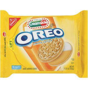 Nabisco Oreo Creme Creamsicle Sandwich Cookies, 15.25 oz