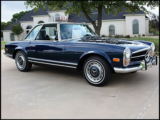 1969 mercedes benz 280sl convertible mercedes 60s 70s for Mercedes benz cars com