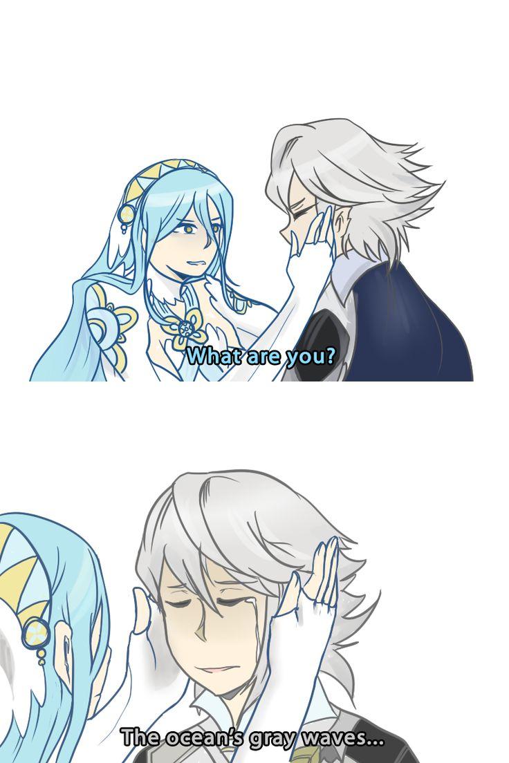 Fire Emblem Fates - Azura isn't having any of your crap