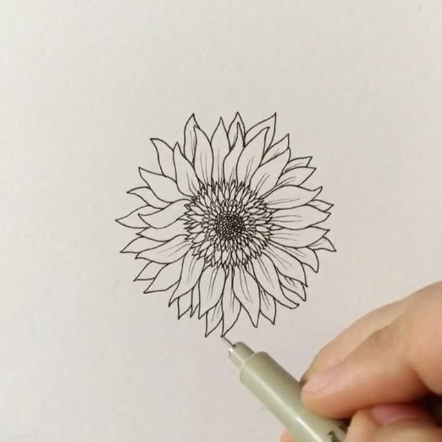 "17.1k Likes, 63 Comments - Grace (@foundbygrace_) on Instagram: ""Throwing it back to- How to draw: a flower!  I apologize that I haven't had time to make these how…"""