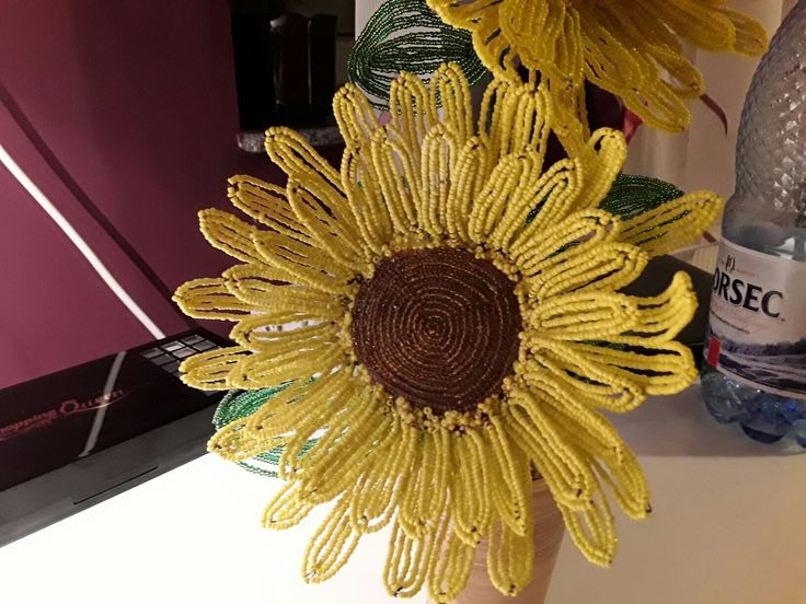 #sunflower #bead