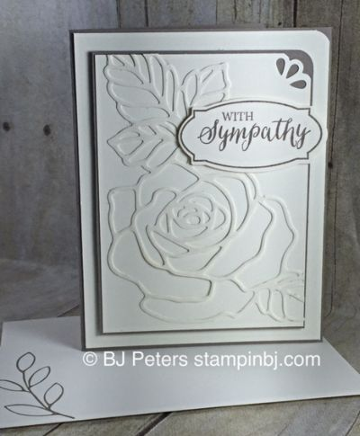 About rose cards on pinterest roses garden roses and stampin up