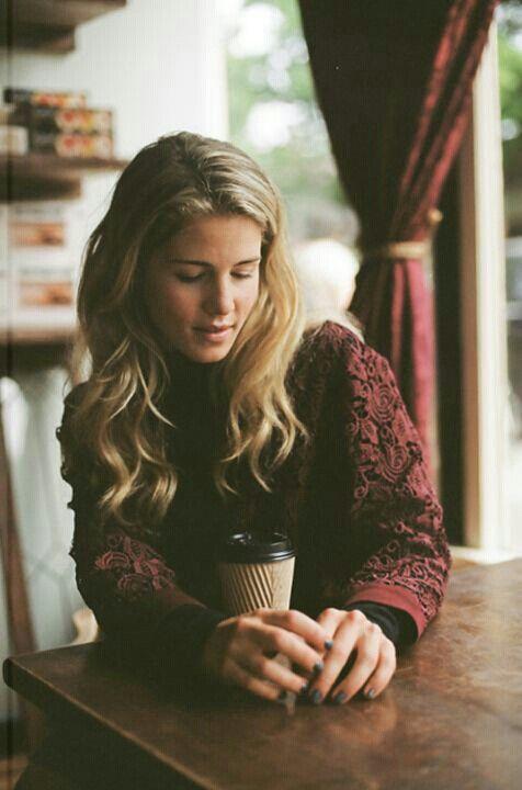 Emily Bett Rickards.