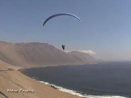 Iquique, Chile. Paragliding capital.