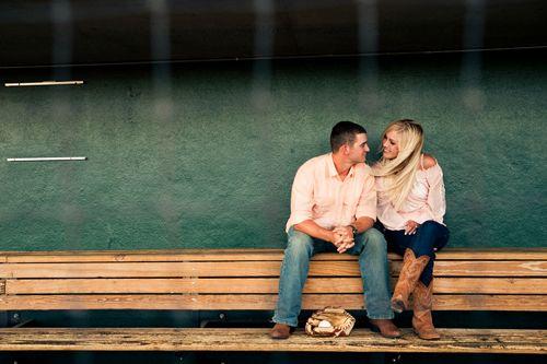 Home Run Engagement Session Baseball Engagement Session – Bride & Joy - Quirky & DIY Irish Wedding Blog
