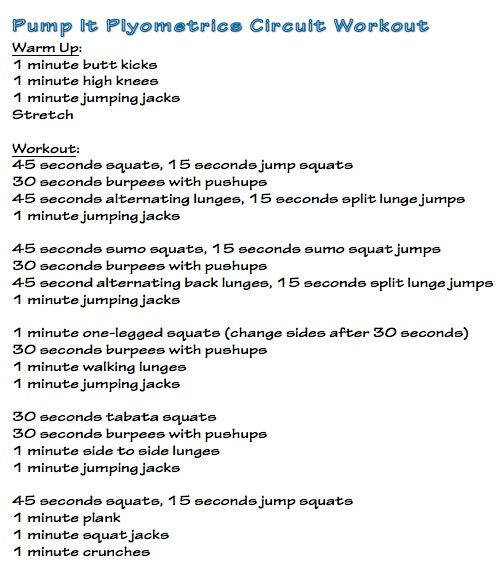 Plyometric Workout Challenge: 105 Best Images About Bootcamp WODs On Pinterest