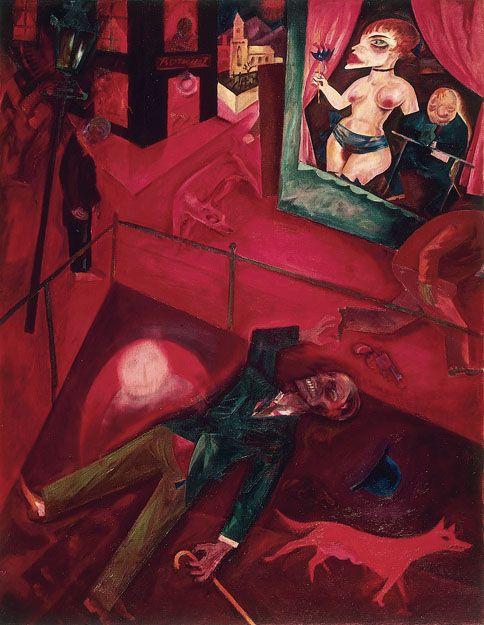Suicide 1916 George Grosz