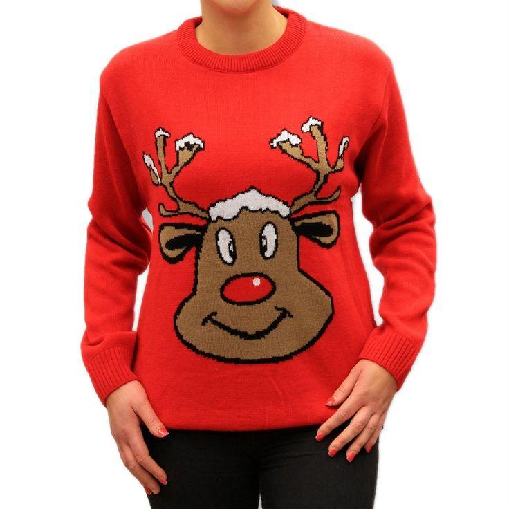 Długi, dopasowany iciepły sweter, które idealnie sprawdza się w chłodniejsze dni.Wyróżnia się przede wszystkim aplikacją –zabawną podobizną renifera.Taki, świąteczny motyw nie tylko idealnie pasuje do zimowej pory roku, kiedy z chęcią sięgamy do szafy po cieplejsze ubrania, ale również znacząco odróżnia go od innych produktów, które dostępne są aktualnie na rynku.