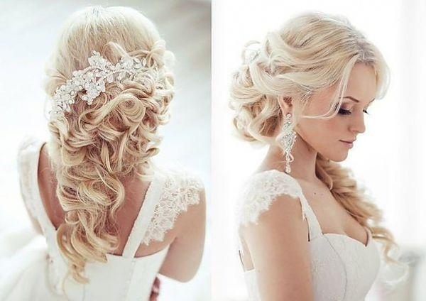 Как вам укладка? цвет волос, прическа и в целом образ - такой нежный! очень красиво! | Идеи для моей свадьбы | Постила