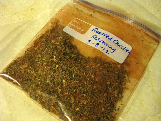 Roasted Chicken Seasoning
