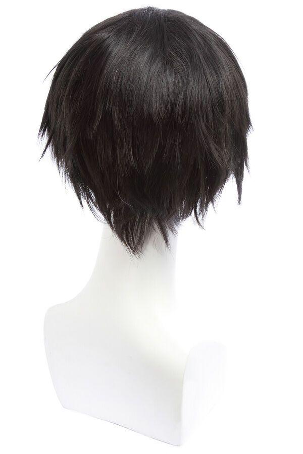 Shingeki No Kyojin Levi Ackerman Cosplay Wig Man Short Black Hair For Halloween Ad Affiliate Ackerman Cosplay Levi