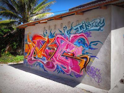IJ's Nauru Street Art http://jouljet.blogspot.com/2013/12/ijs-nauru-street-art.html #streetart