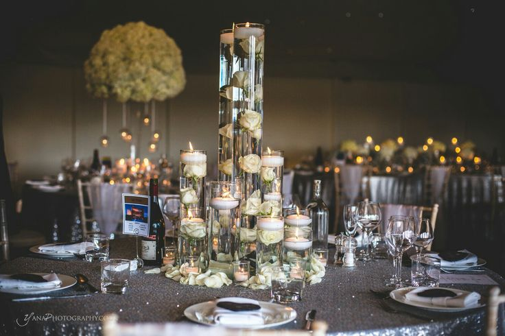 Masses of candles will transform any space for your day - Red Floral Architecture
