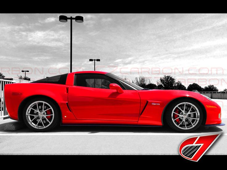 MANUFACTURER: C7 CARBON NEW IN THE BOX! PART NUMBER: C7-CCC6Z-SS-CF [2005-2013] Chevrolet Corvette ZR1 Style Side Skirts with Mudflaps for ZR1/Z06/GS | Carbon Fiber | These side skirts are modeled off