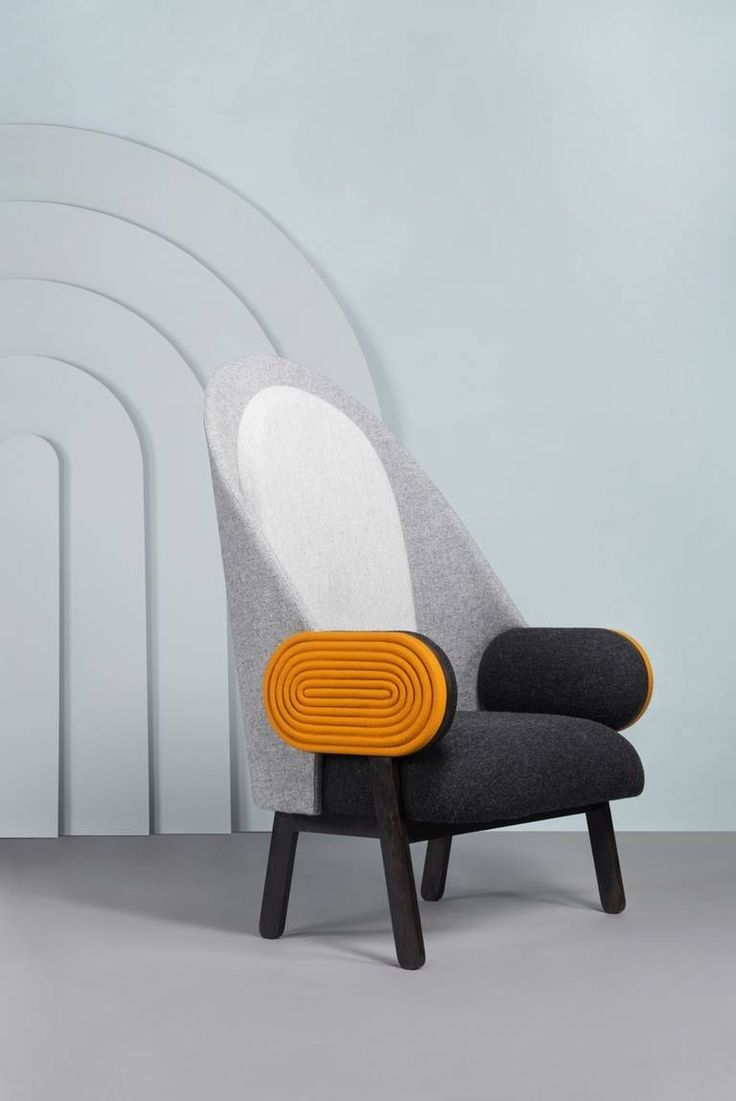 Moon I',an Elegant Contemporary Armchair with a Vintage Twist image 6