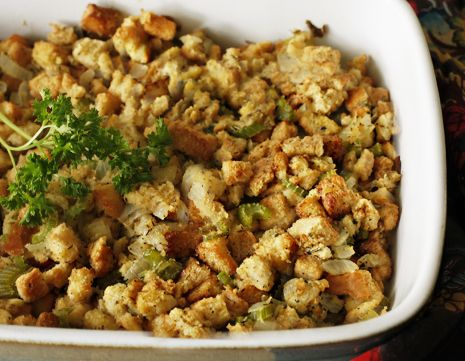 Simple Classic Homemade Stuffing