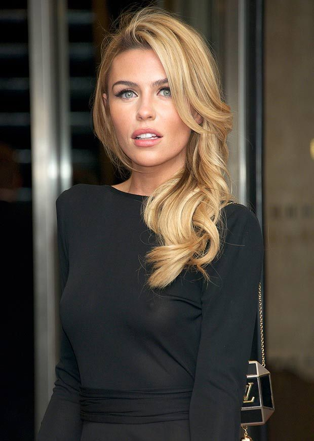 Abbey Clancy Abbey Clancyamprsquos hunt for a new male supermodel on