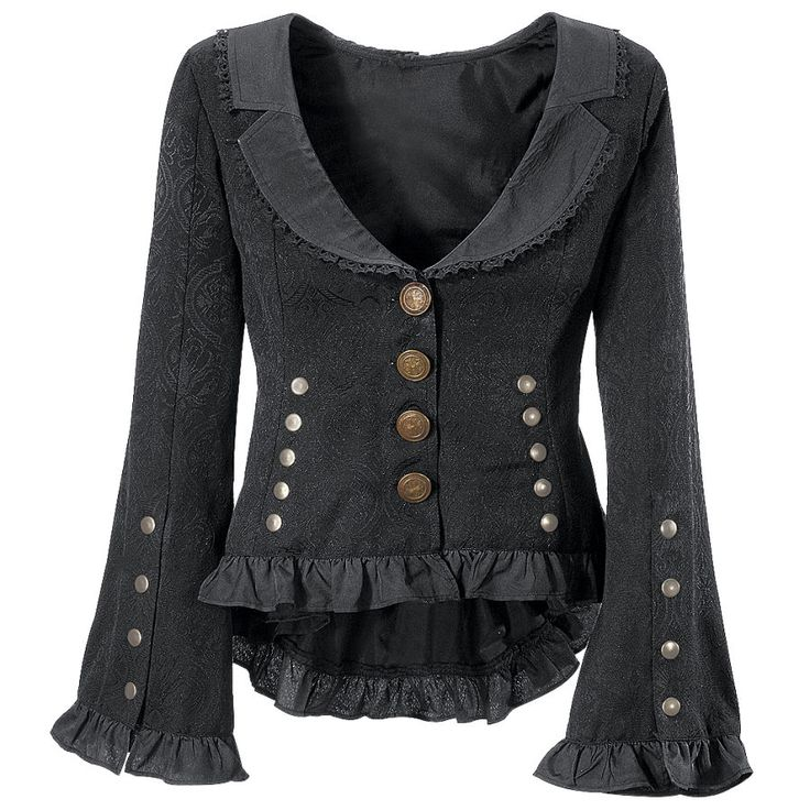 pretty fabic and nice buttons, although not the greatest style overall, I do like the more open neckline