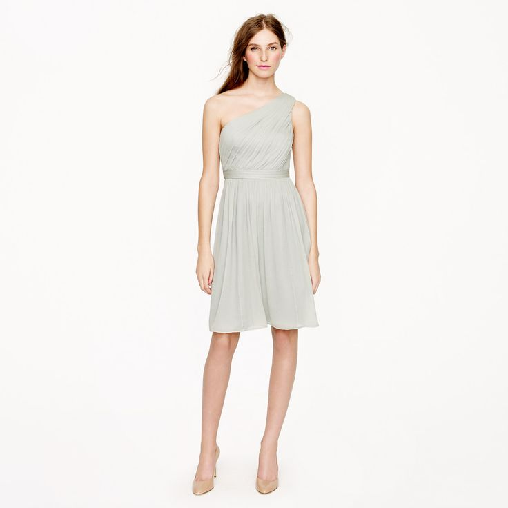 Kylie dress in silk chiffon - silk chiffon - Wedding's Bridesmaid - J.Crew