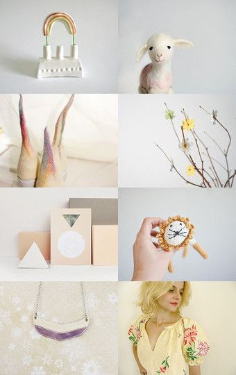 Call to spring in pastel by Sara Pacciarella on Etsy--Pinned with TreasuryPin.com