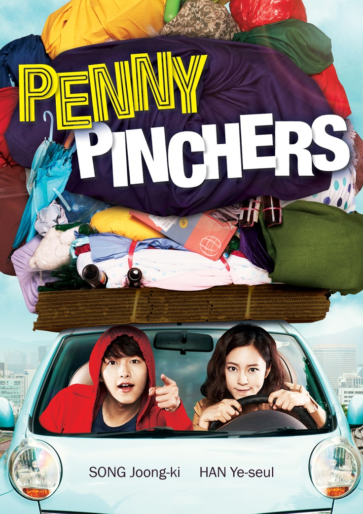 Cover [FINAL]: PENNY PINCHERS (2011) -- starring SONG Joong-ki and HAN Ye-seul -- available on R1 DVD on May 21, 2013 from 5 Points Pictures.