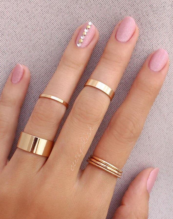 20 pink and pretty nail design ideas  – Gelegentliche Nageldesigns