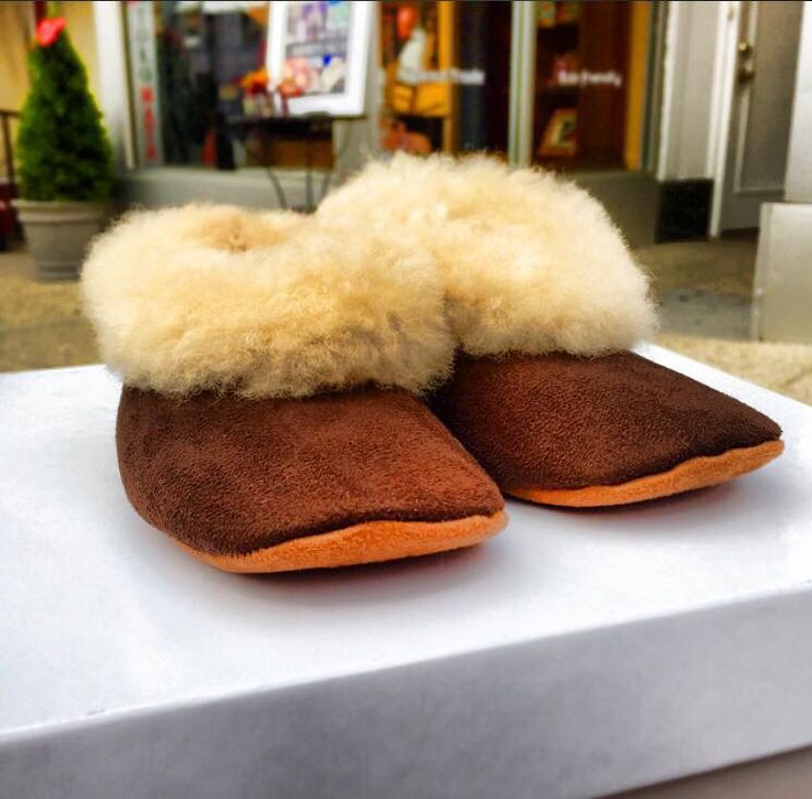 Baby have cold toes this morning? Warm Alpaca slippers from Toro Mata just $29