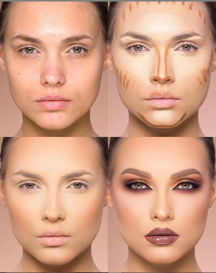 24 Perfect And Best Contour Highlight Makeup Tutorial For Beginners – Page 18 of 24