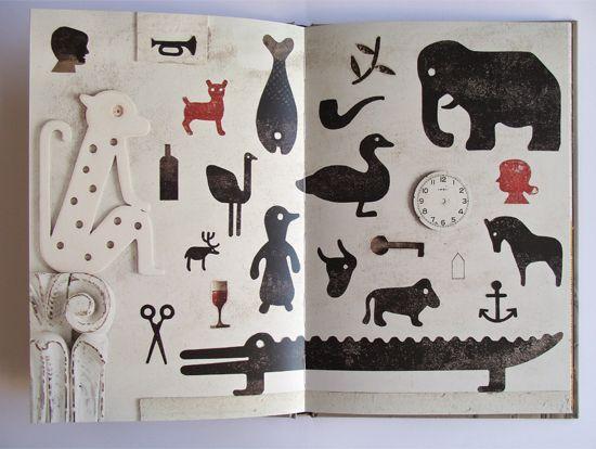 Isidro Ferrer    Los sueños de Helena  Texto de Eduardo Galeano  64 páginas. Color. 170 x 250  Barcelona, Libros del Zorro Rojo, 2011