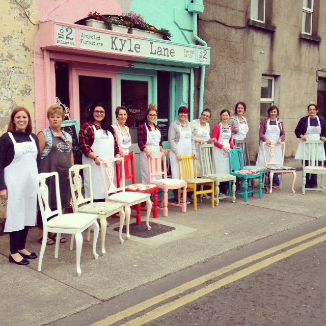 #Upcycled Chair Workshop from Kyle Lane Clonmel