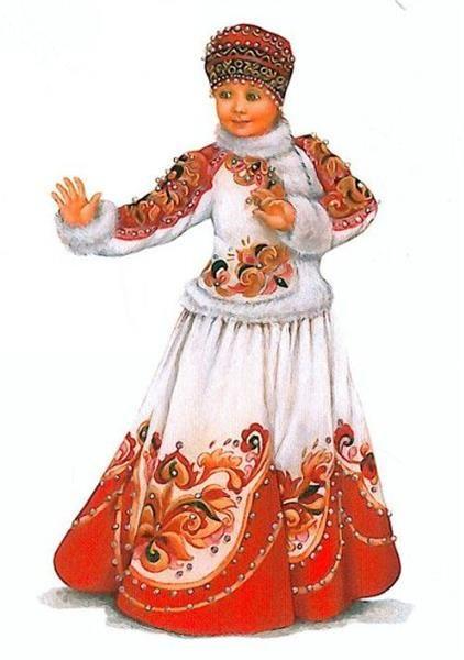 Русско народные костюмы для танцев