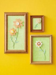 JARDIM COLORIDO DA TIA SUH: Quadro feito com Flores