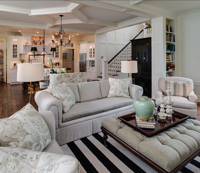 Interior Design Open Kitchen Living Room: Best 25+ Traditional Family Rooms Ideas On Pinterest