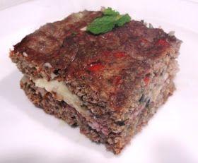 Receitas da Dieta Dukan: Kibe assado recheado Dukan