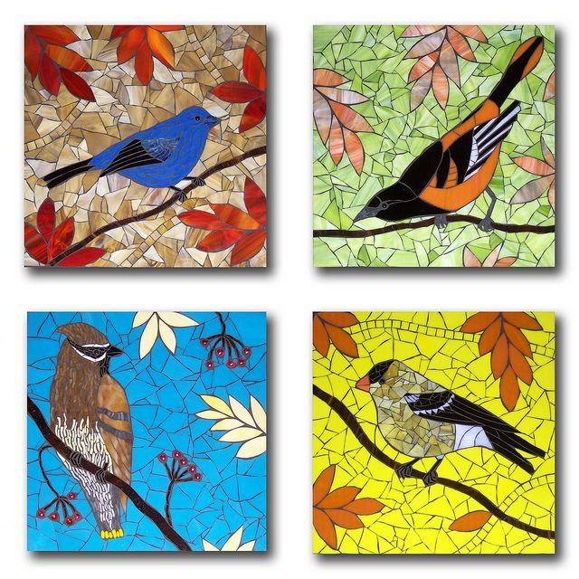 Four Birds by Barb Keith, via Flickr