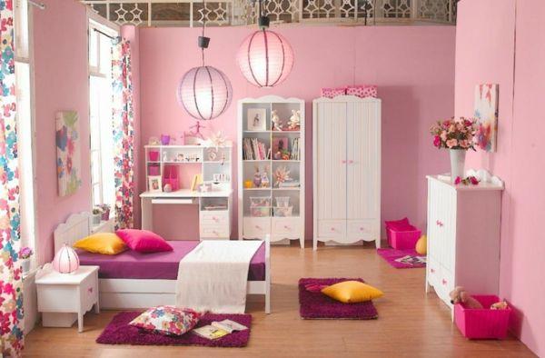 Kinderzimmer Einrichtung | Rosa Kinderzimmer gestalten städtische einrichtung