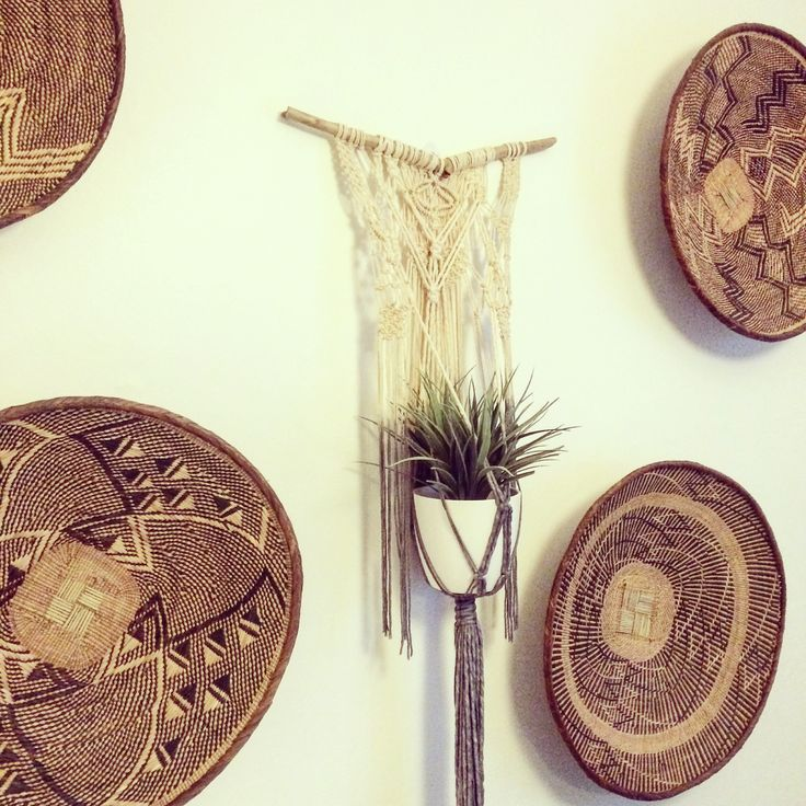 Love this Macrame Adventure plant hanger I made. Looks great with the baskets!
