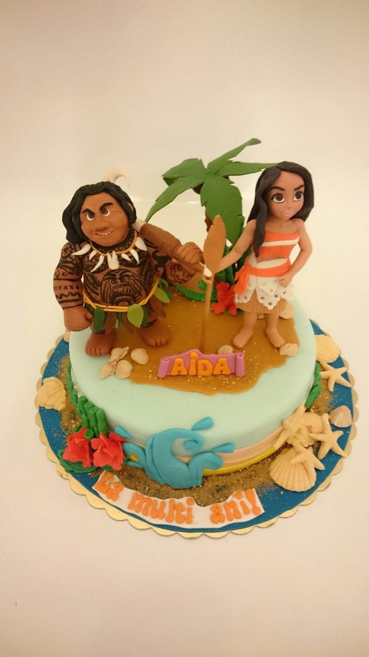 Moana cake idea