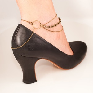 Chain Ankle Bracelet, $45, now featured on Fab. Becca I know you'd love this...