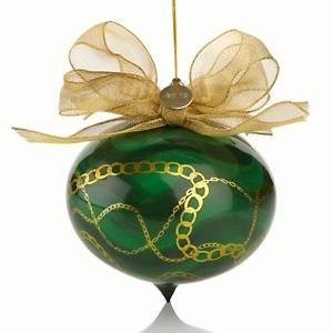 Tori Spelling 2012 Heart Ornament to benefit #stjude #hsn