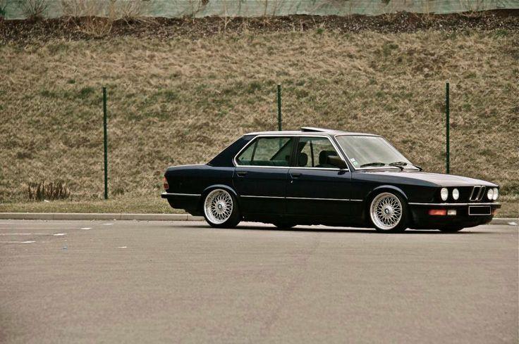 Bmw E28 5 Series Black Bmw E28 Pinterest Bmw Cars