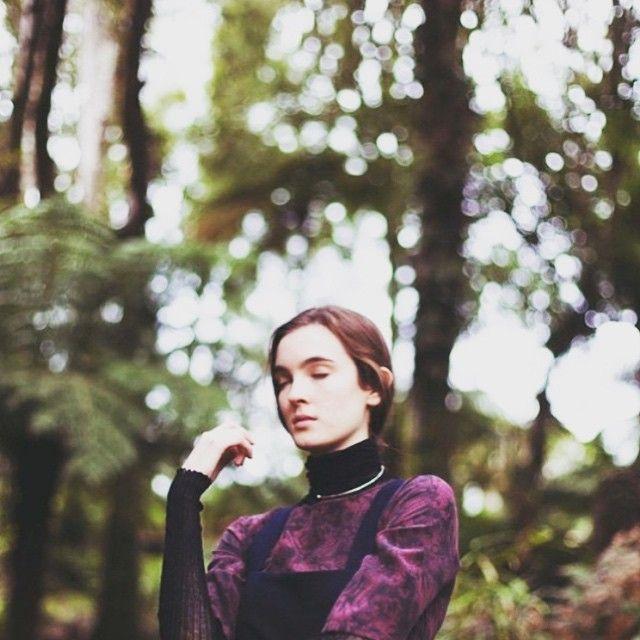 Close up of our #BLAKLUXE Marble Print in @cataloguemagazine   photography @beckimoss_ Model @faye_nielsen #newzealand #winter #cataloguemagazine